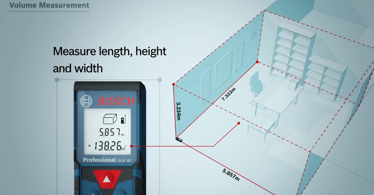 Máy đo khoảng cách GLM 40 Professional