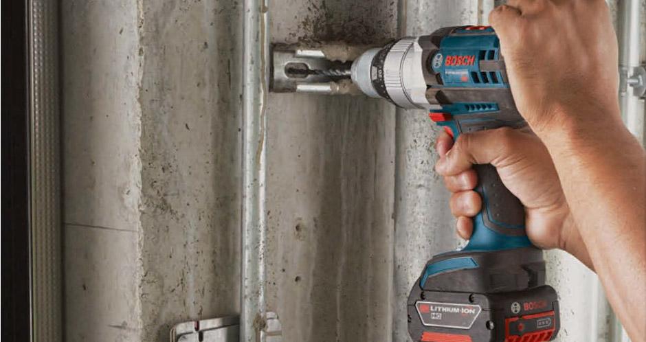 Làm thế nào để đập vỡ máy khoan Bosch