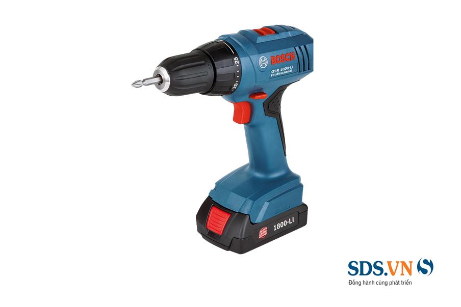 máy khoan vặn vít dùng pin GSR 1800-LI