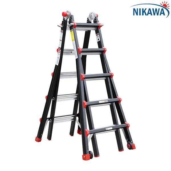 Thang nhôm gấp Nikawa chính hãng