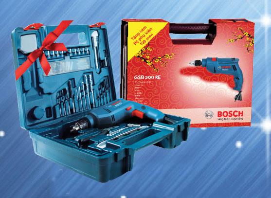 Máy khoan Bosch tặng quà tết