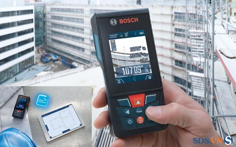Lí do nên mua máy đo khoảng cách laser Bosch GLM 150 C?