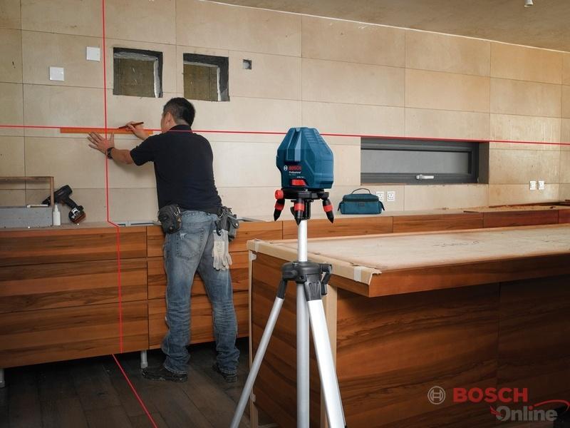 Hình ảnh Máy cân mực Laser tia Bosch GLL 3-15X professional